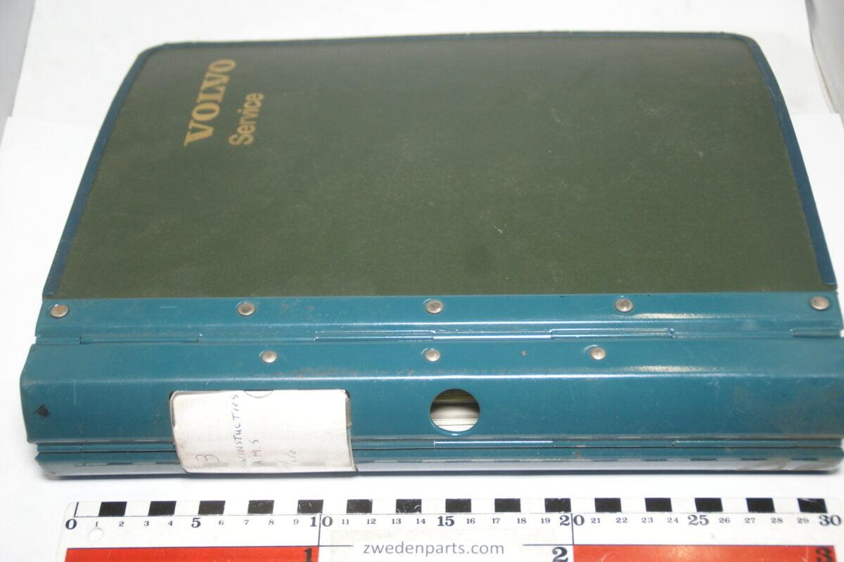 DSC02263 ca. 1988 origineel werkplaatshandboek VOLVO 460-cbb6a455
