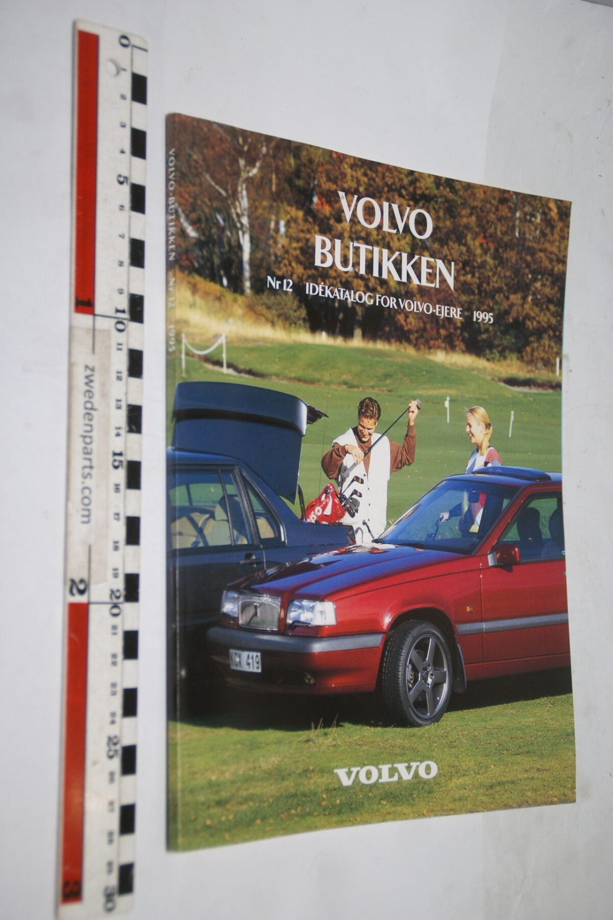 DSC02265 1995 origineel boek Volvo boetiek, Svensk-0055f6bd