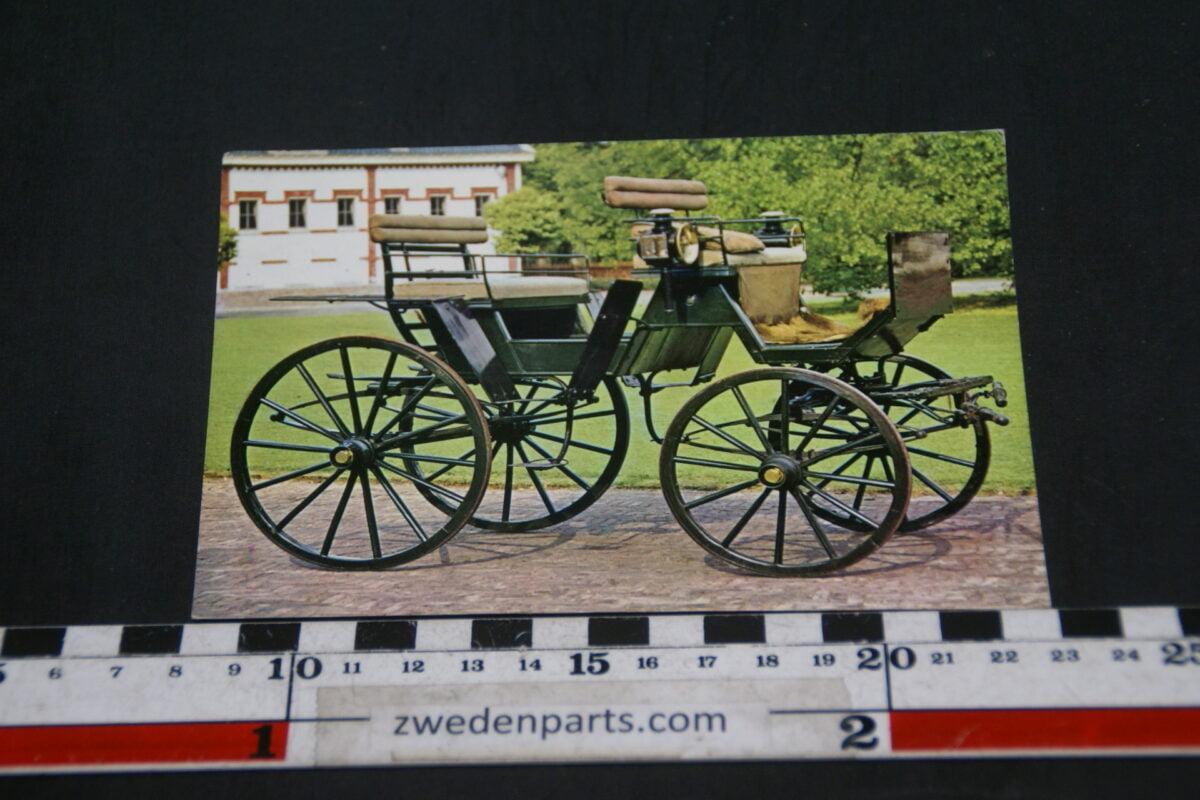 DSC02387 prentbriefkaart 1906 Jachtwagen uit Het Loo-0b1bd30b