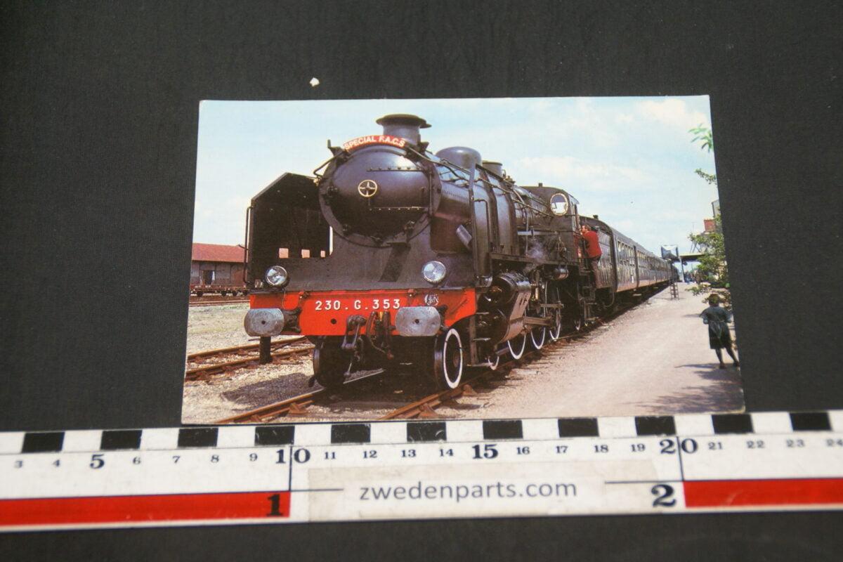 DSC02389 prentbriefkaart stoomloc 230G353 uit Frankrijk-752dbf86