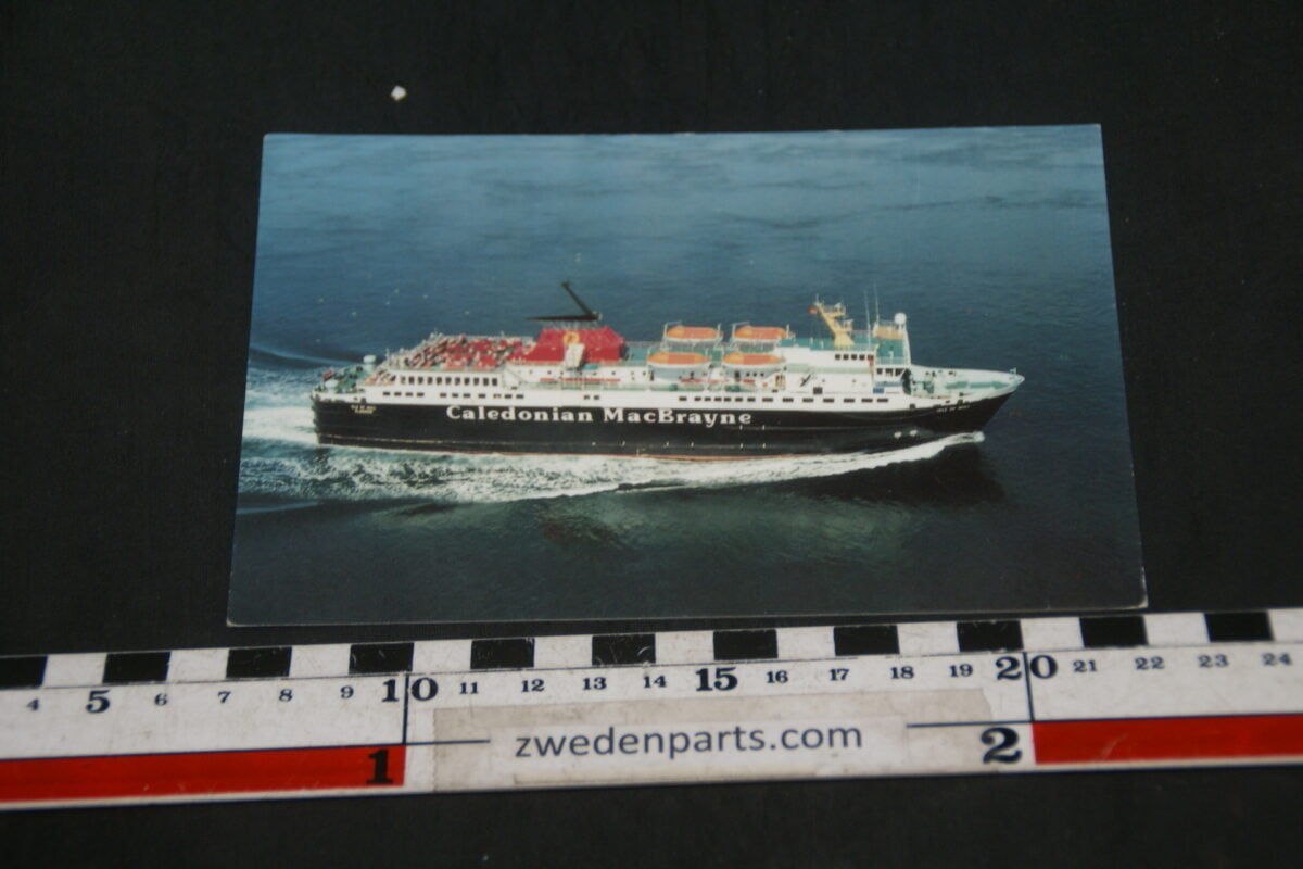 DSC02391 1989 prentbriefkaart boot Caledonian MacBrayne-90f52647