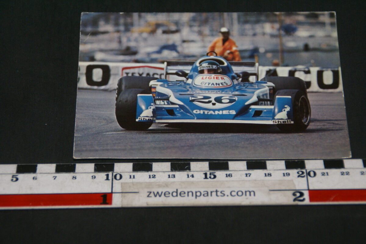 DSC02404 prentbriefkaart Ligier raceauto-11ccf39c