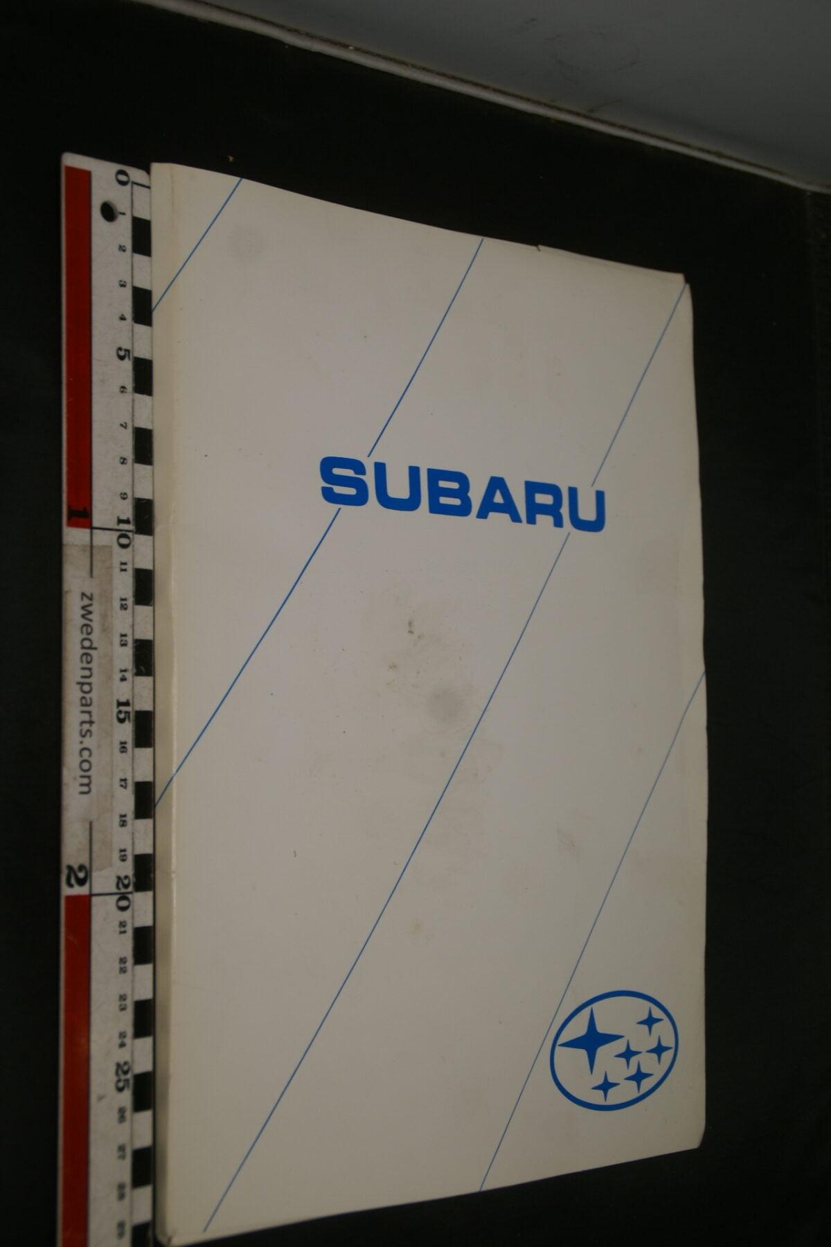 DSC02409 1997 originele persmap RAI Subaru-17890a37