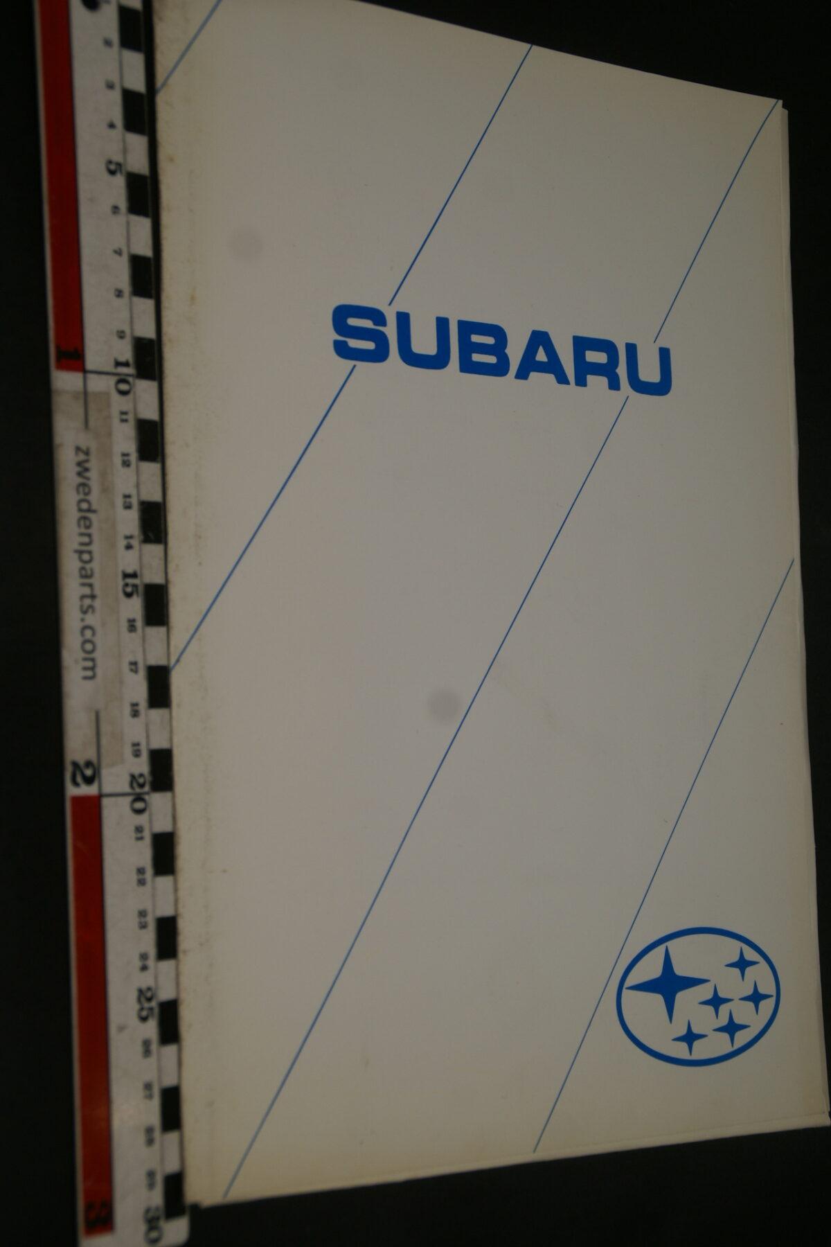 DSC02425 1996 originele persmap Subaru Impreza-f5e87dd4