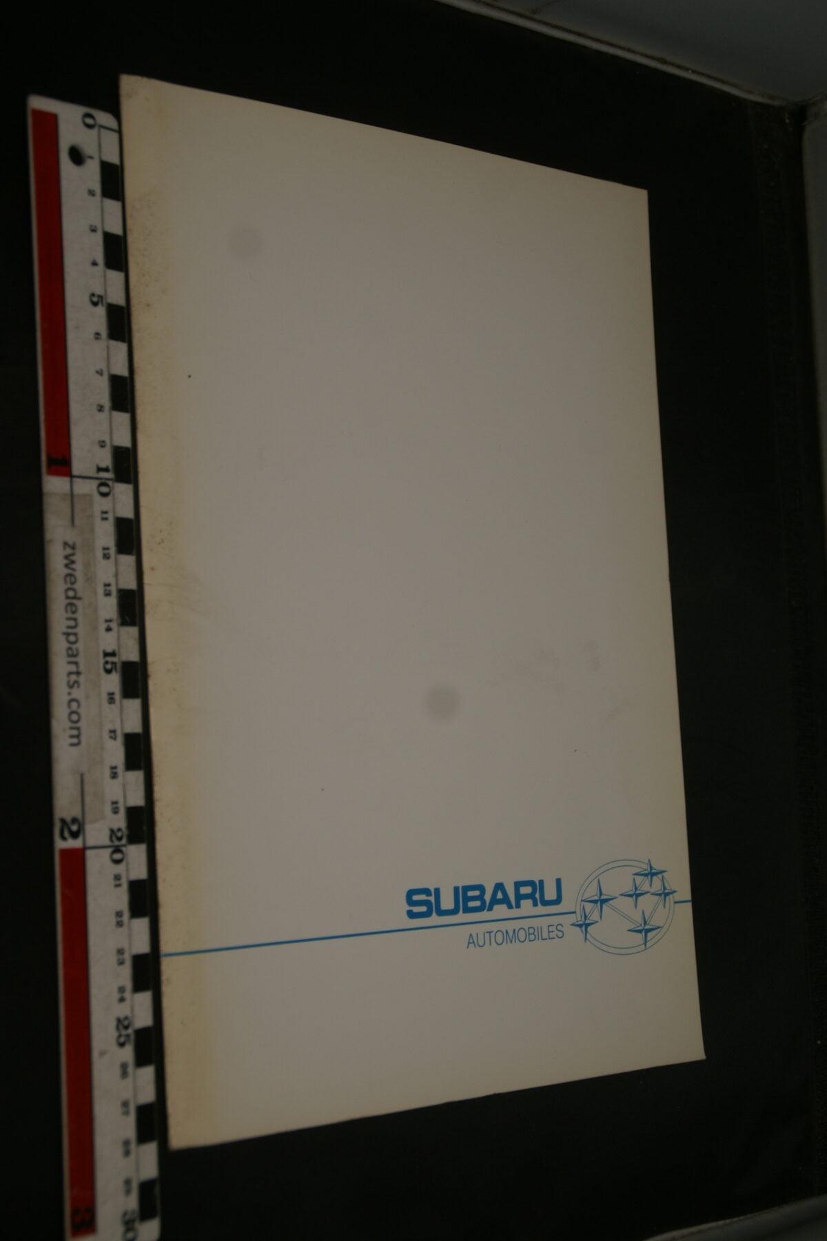 DSC02431 1988 originele persmap Subaru -c4ff5da7