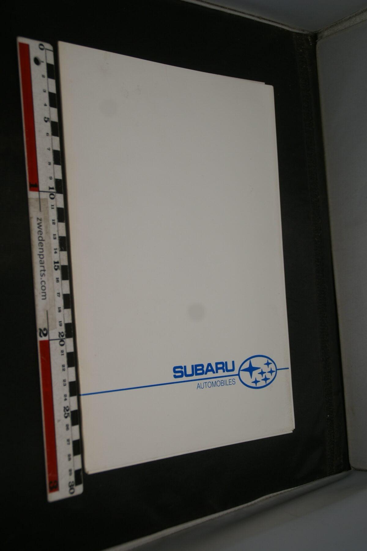 DSC02435 1990 originele persmap Subaru -be2b53fe
