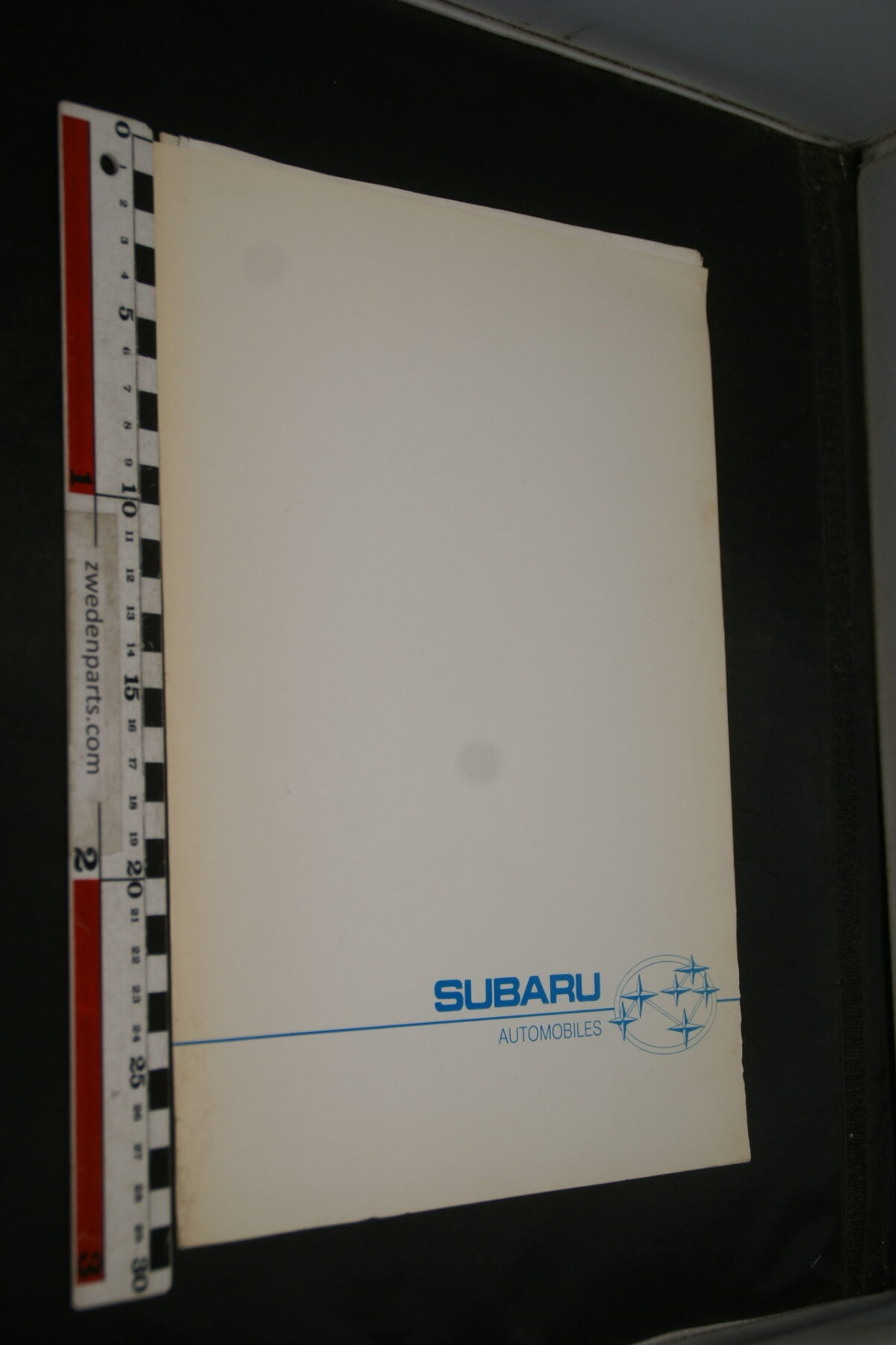 DSC02437 1985 originele persmap Subaru XT-6393266d