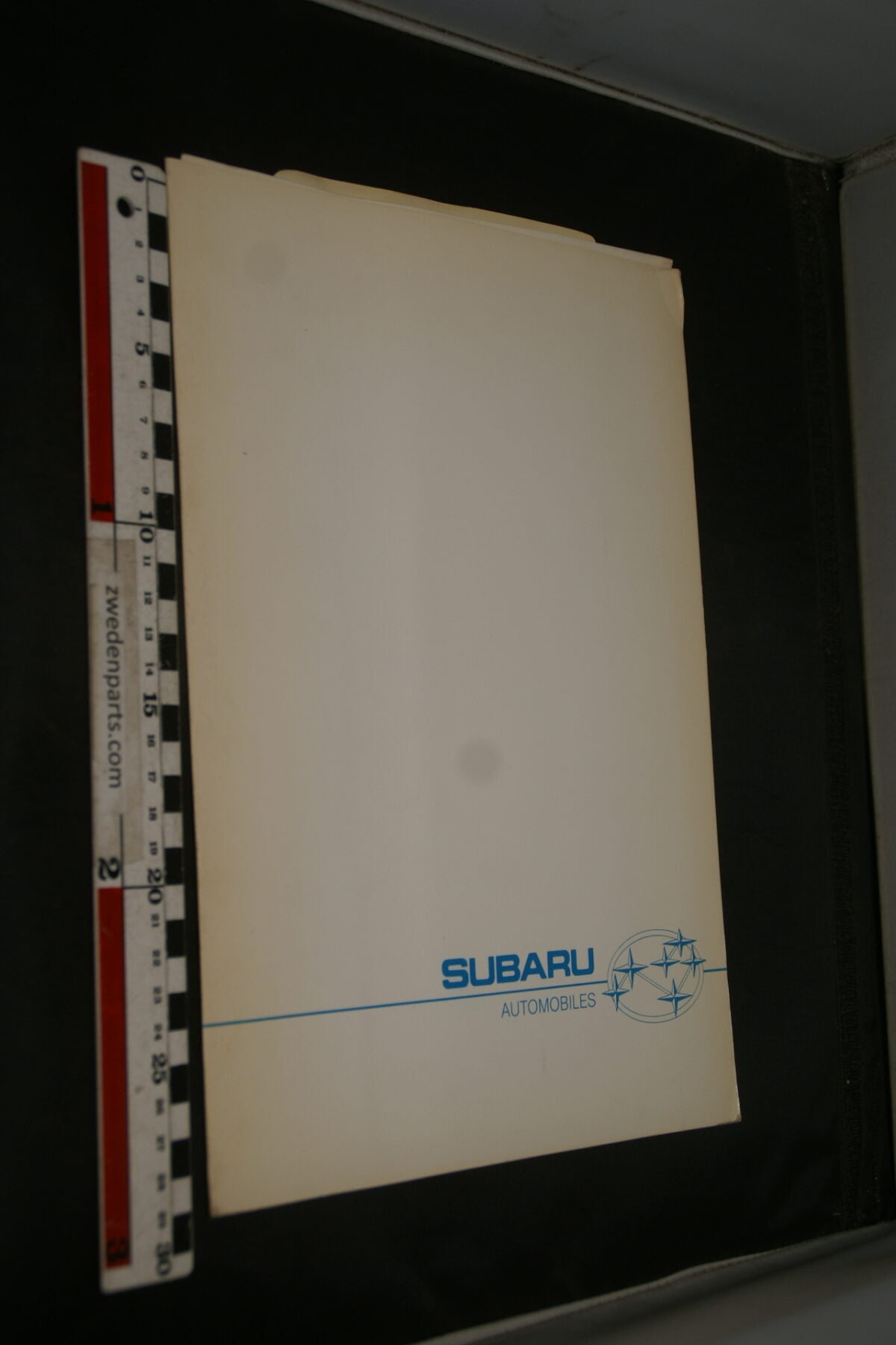 DSC02439 1989 originele persmap Subaru -c78cfe28