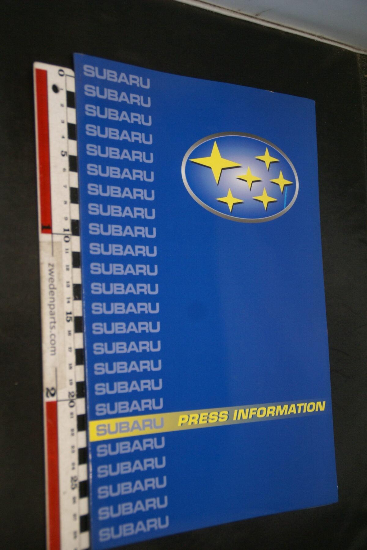 DSC02442 1999 originele persmap Subaru Impreza-af3536ed