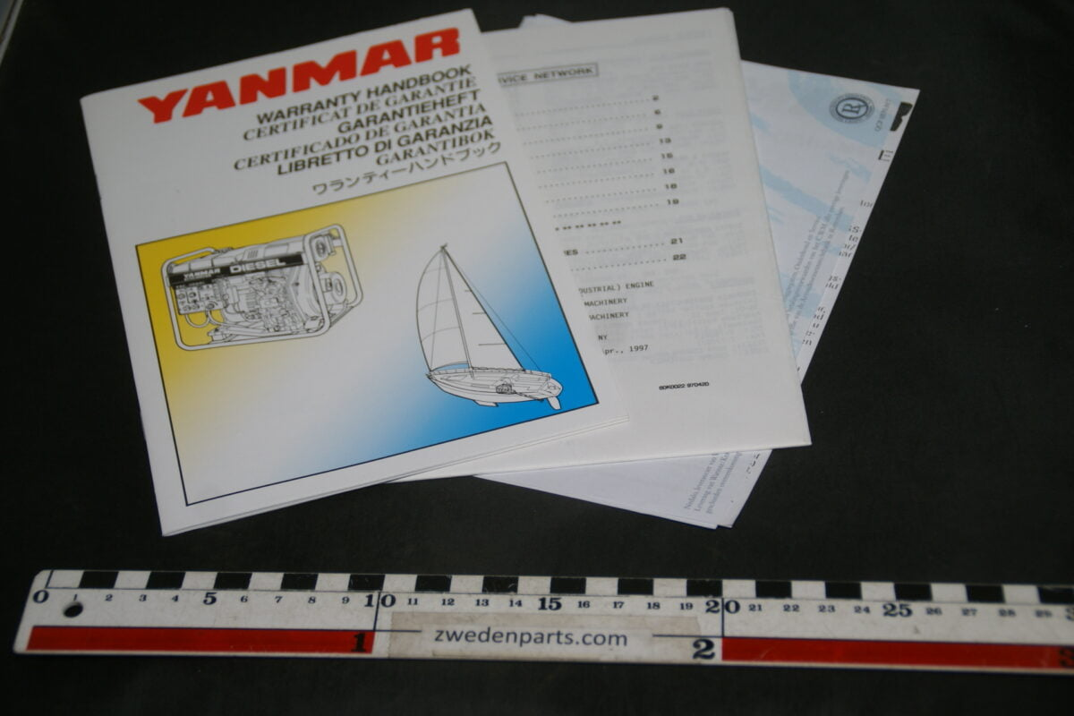 DSC02448 garantiehandboek Yanmar scheepsdiesel-707da265