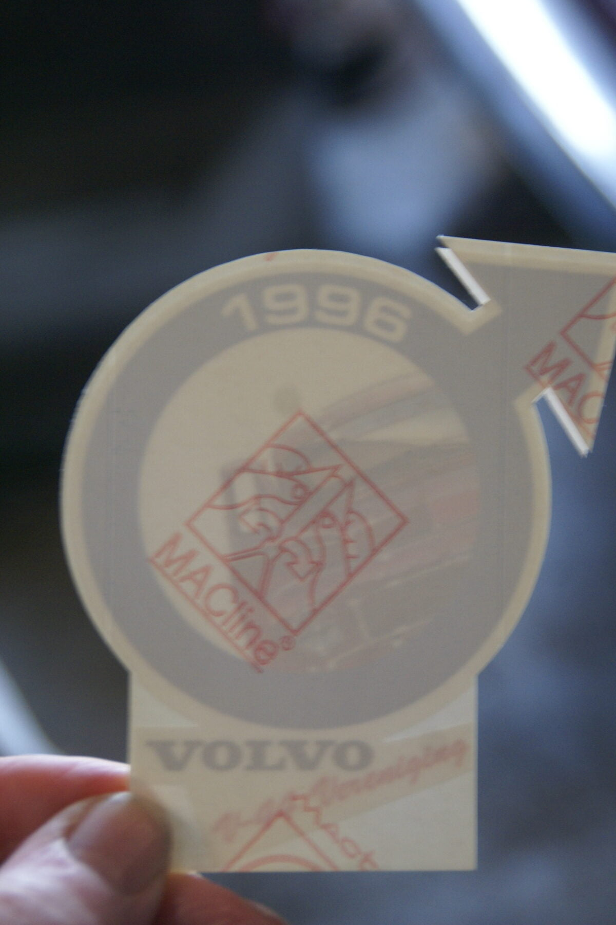 DSC02522 1996 sticker Volvo V44 Vereniging NOS-c190218d