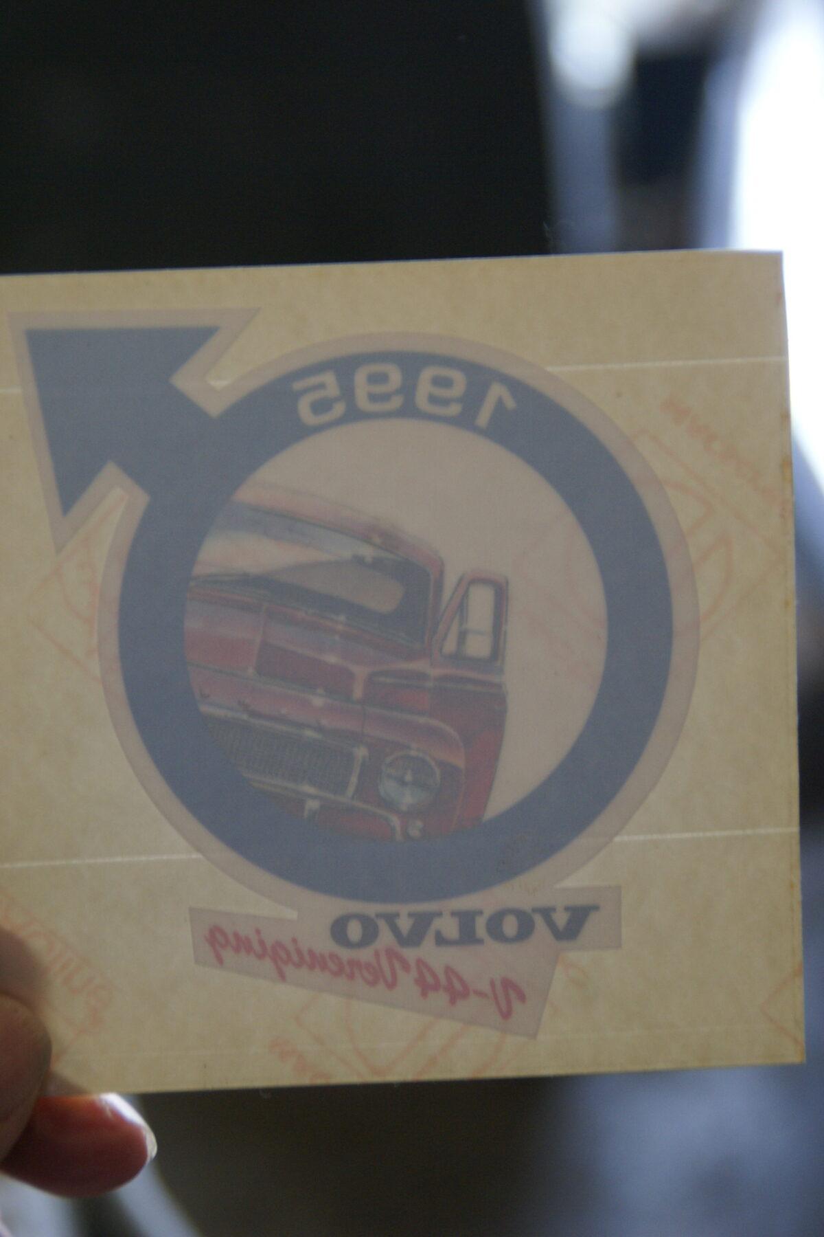 DSC02523 1995 sticker Volvo V44 Vereniging NOS-f0581ac1