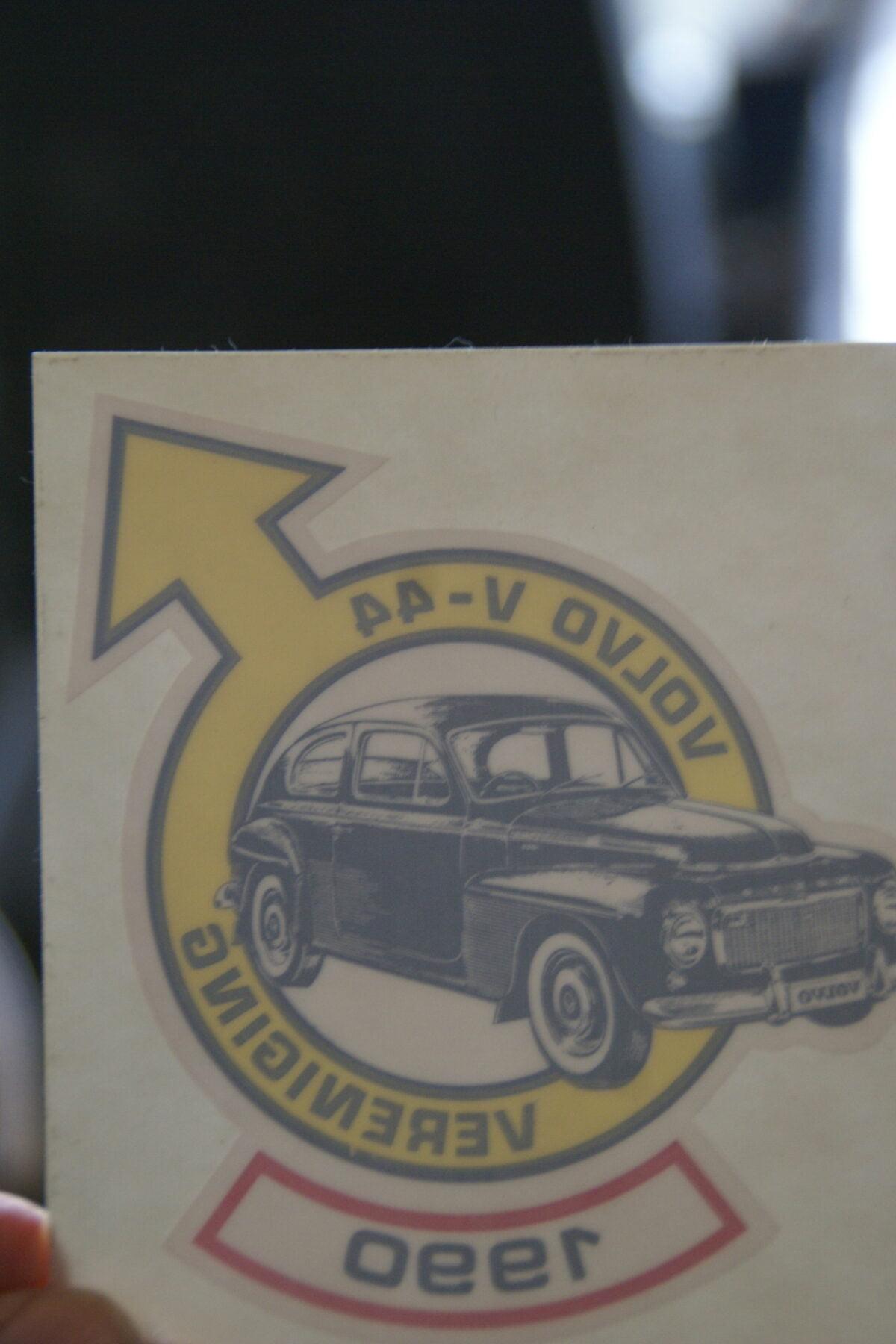 DSC02526 1990 sticker Volvo V44 Vereniging NOS-99b38acf