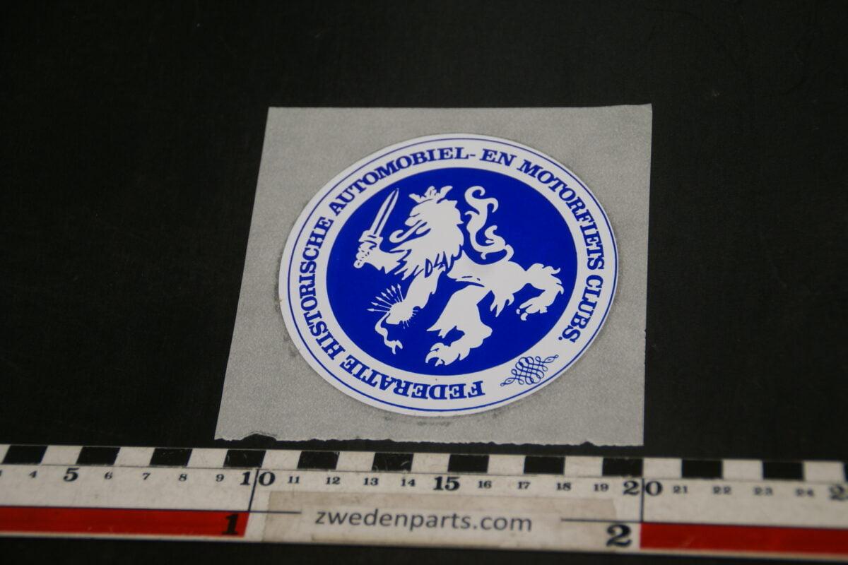 DSC02528 sticker federatie historische Auto clubs NOS-5666b075
