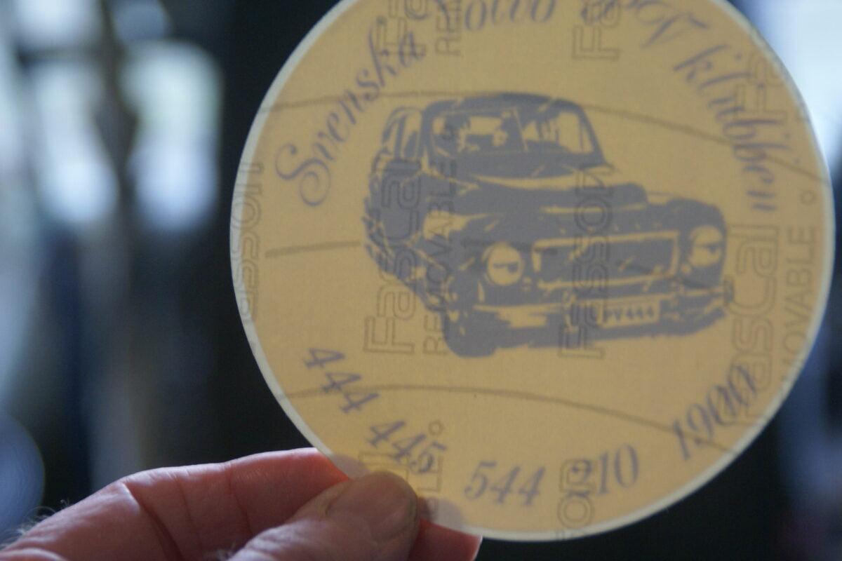 DSC02530 ca1999 sticker Volvo PV Klubben 444 445 544 210 1900 NOS-85901748