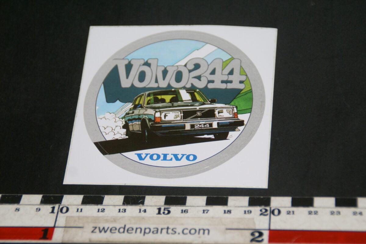 DSC02532 ca 1980 originele sticker Volvo 244 NOS-b074dd8b