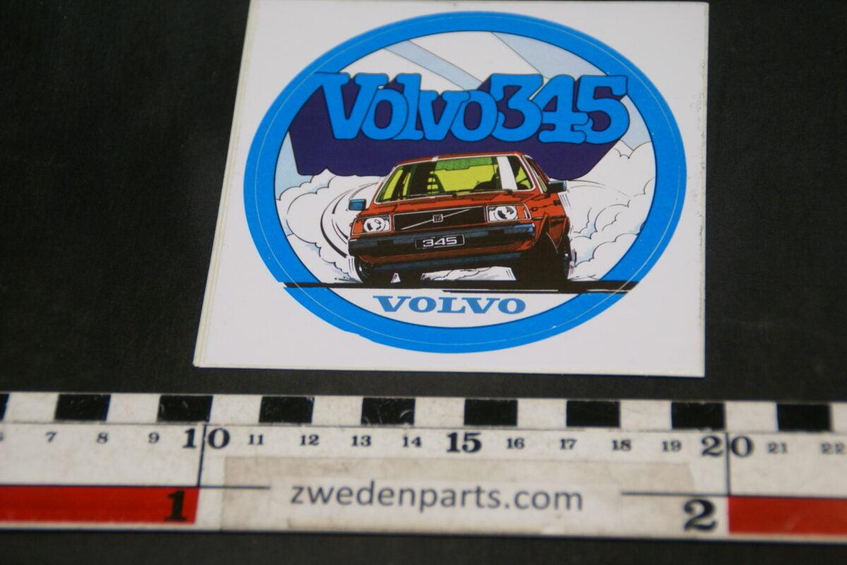 DSC02535 ca 1980 originele sticker Volvo 345 NOS-7922c942