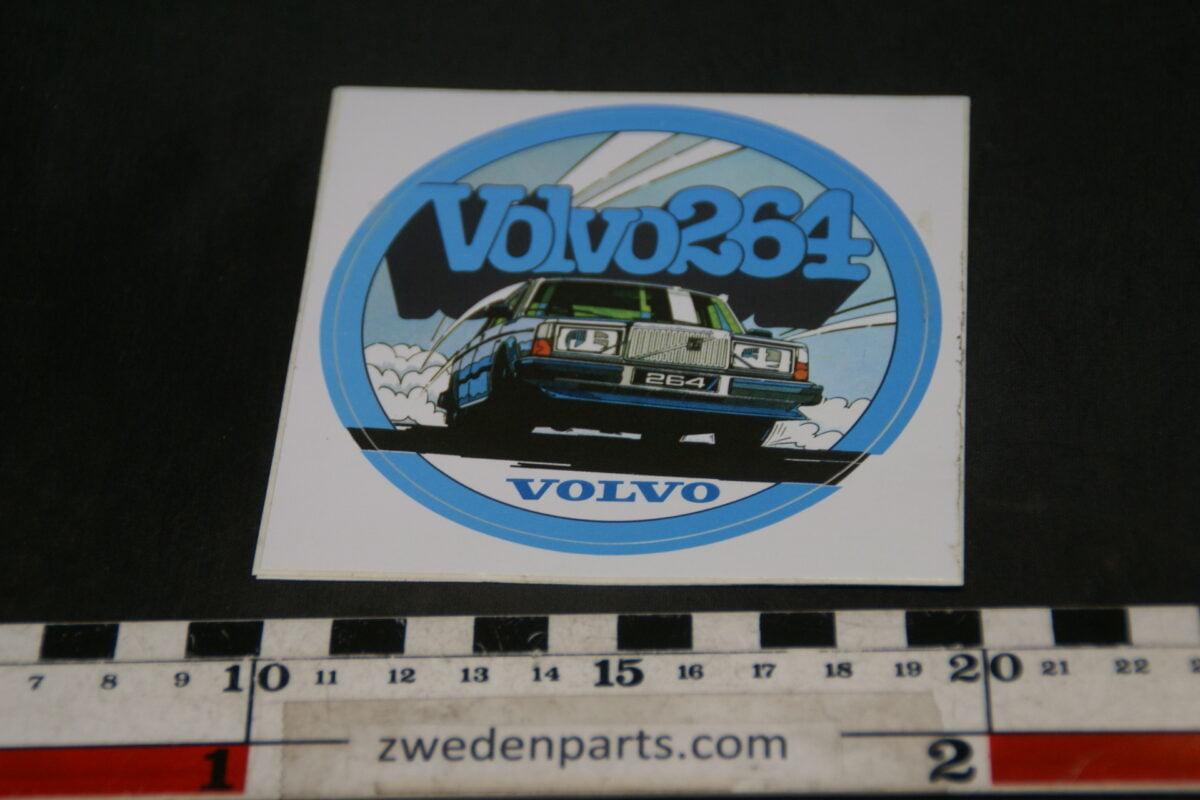 DSC02536 ca 1980 originele sticker Volvo 264 NOS-370578f4