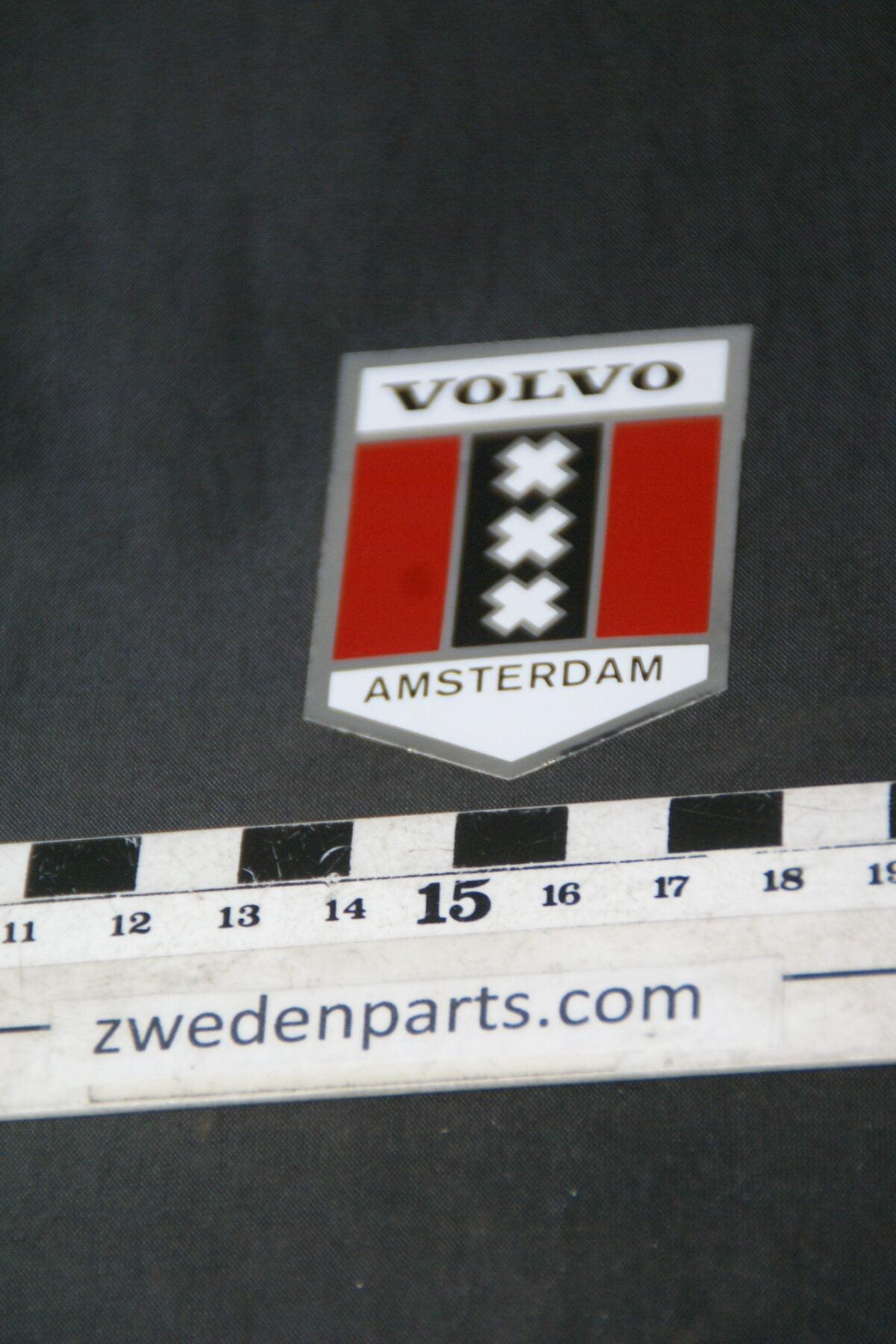 DSC02537 ca 1980 originele sticker Volvo Amsterdam NOS-cab6337c