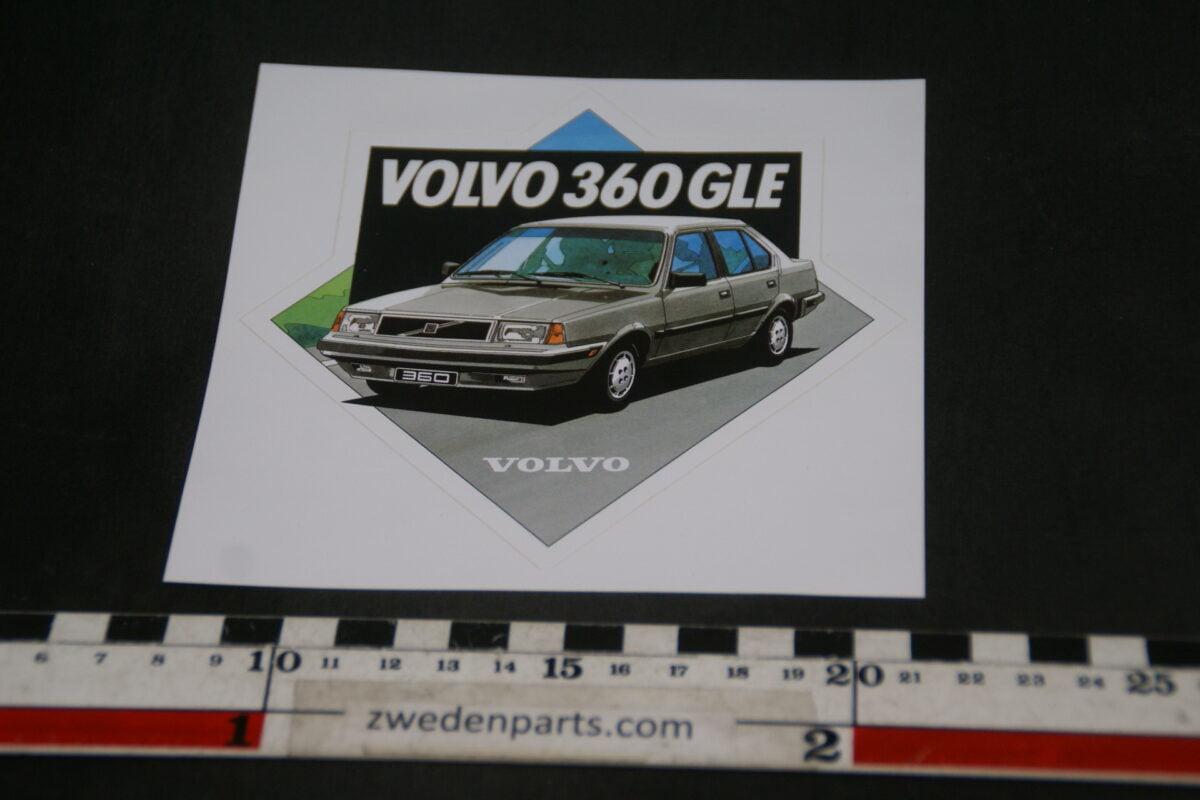 DSC02539 ca 1988 originele sticker Volvo 340 NOS-b345351f