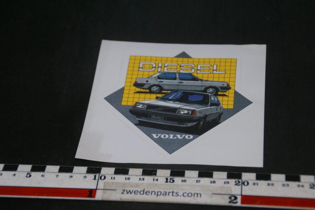 DSC02540 ca 1988 originele sticker Volvo 340 diesel NOS-b5e8a25a