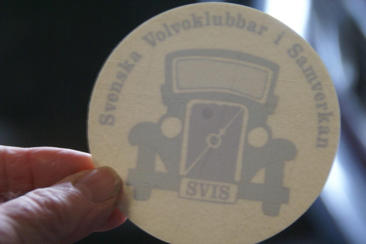 DSC02541 ca 1988 originele sticker Volvo Svenska Klubbar SVIS NOS-8b8c77b2