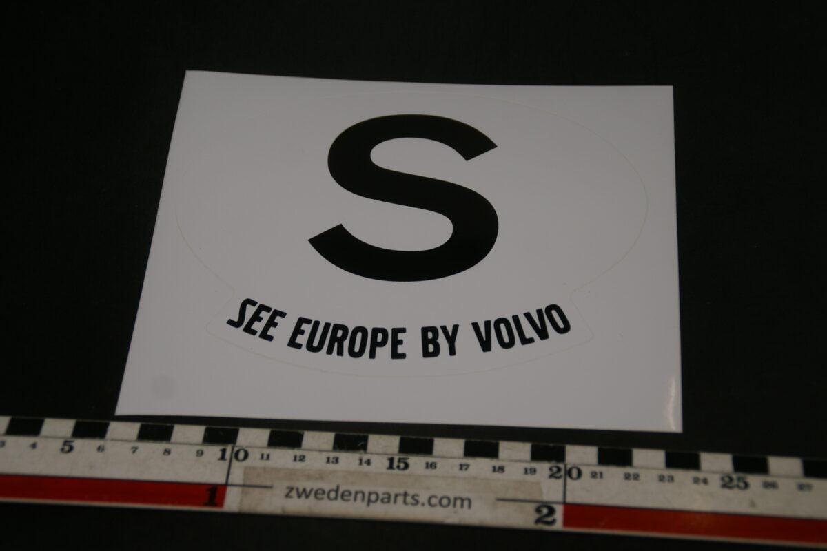 DSC02544 originele sticker S see europe by Volvo NOS-292e3ea8