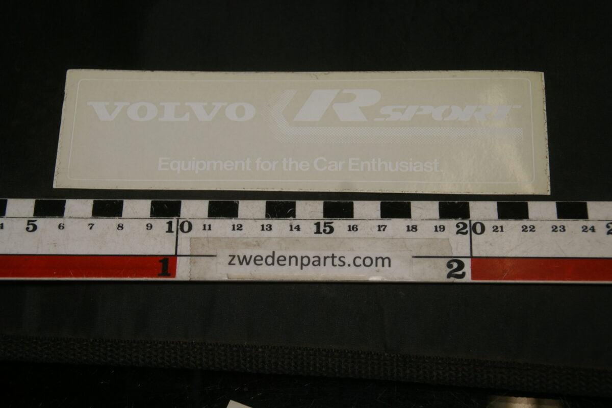 DSC02550 originele sticker Volvo R-SPORT NOS-06d5911e