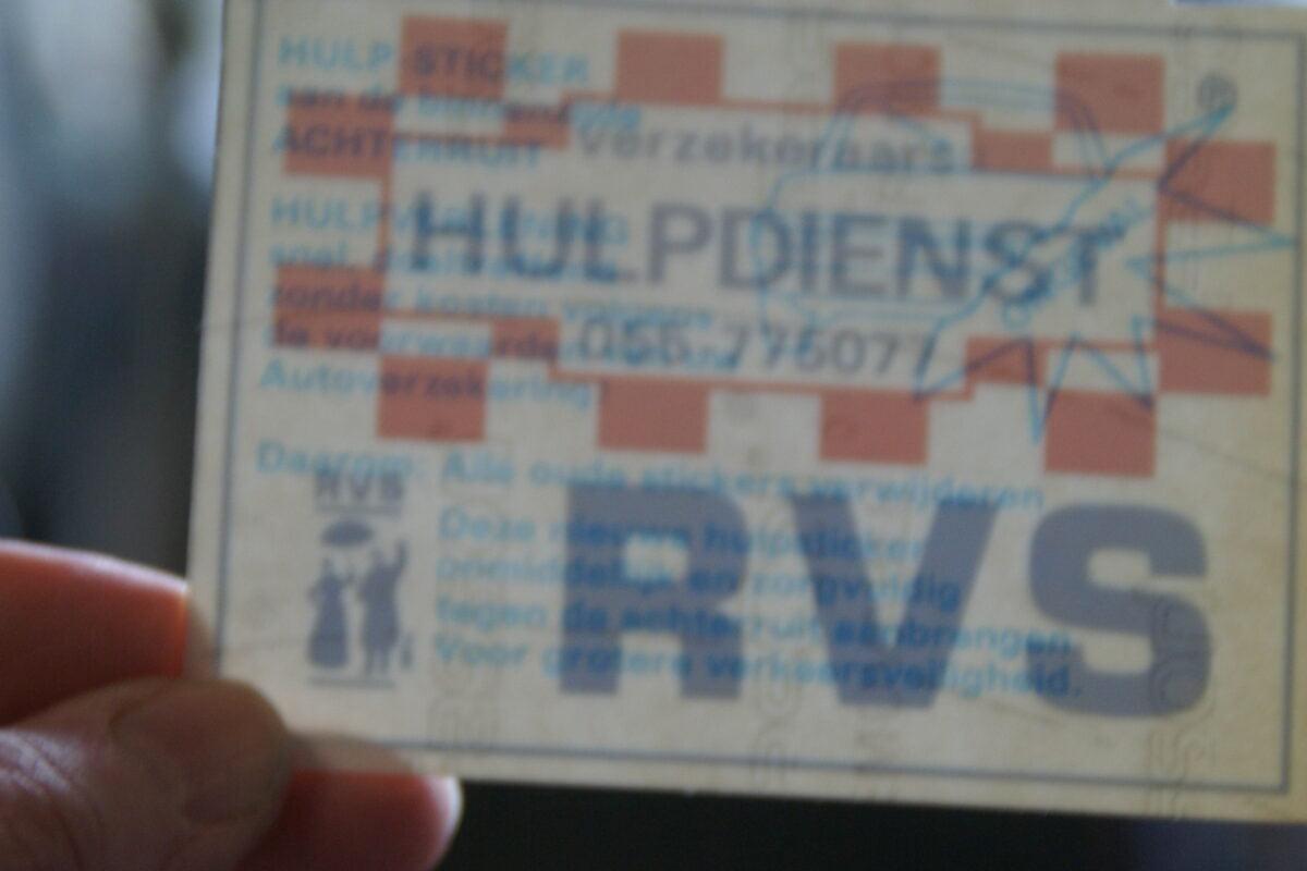 DSC02556 originele sticker RVS hulpdienst NOS-38040f29