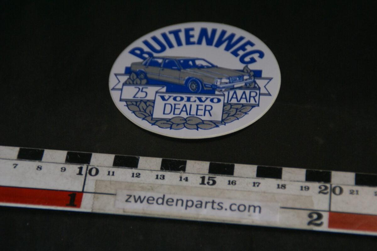 DSC02559 ca 1998 originele sticker Volvo Buitenweg 25 jaar NOS-fc74d18e