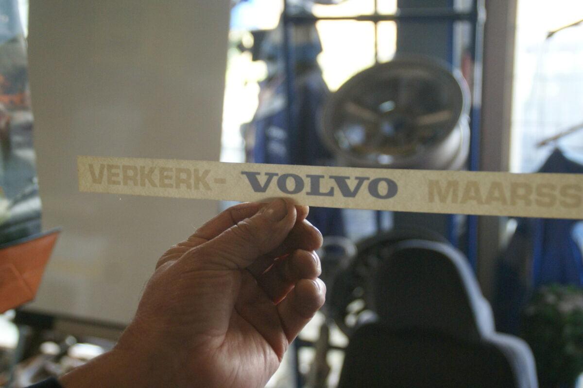 DSC02564 ca 1995 originele sticker Volvo Verkerk Maarssen NOS-299a7769