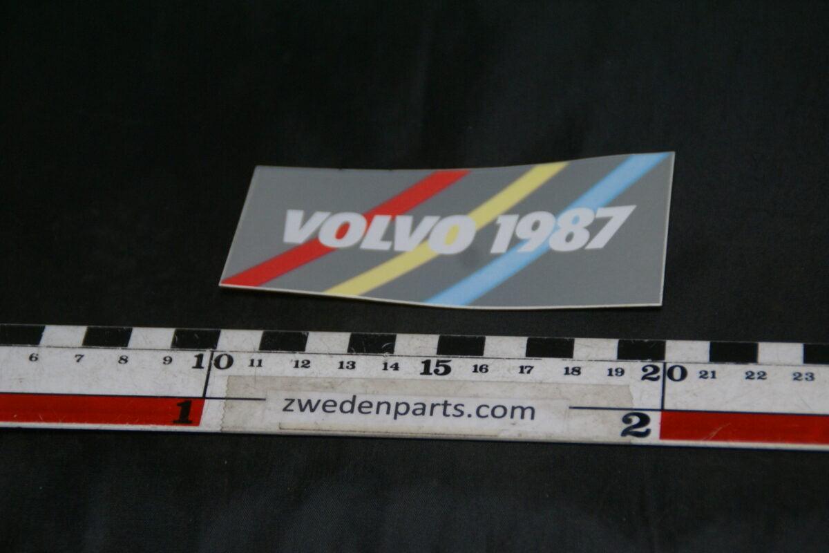 DSC02567 1987 originele sticker Volvo NOS-be10a2ec