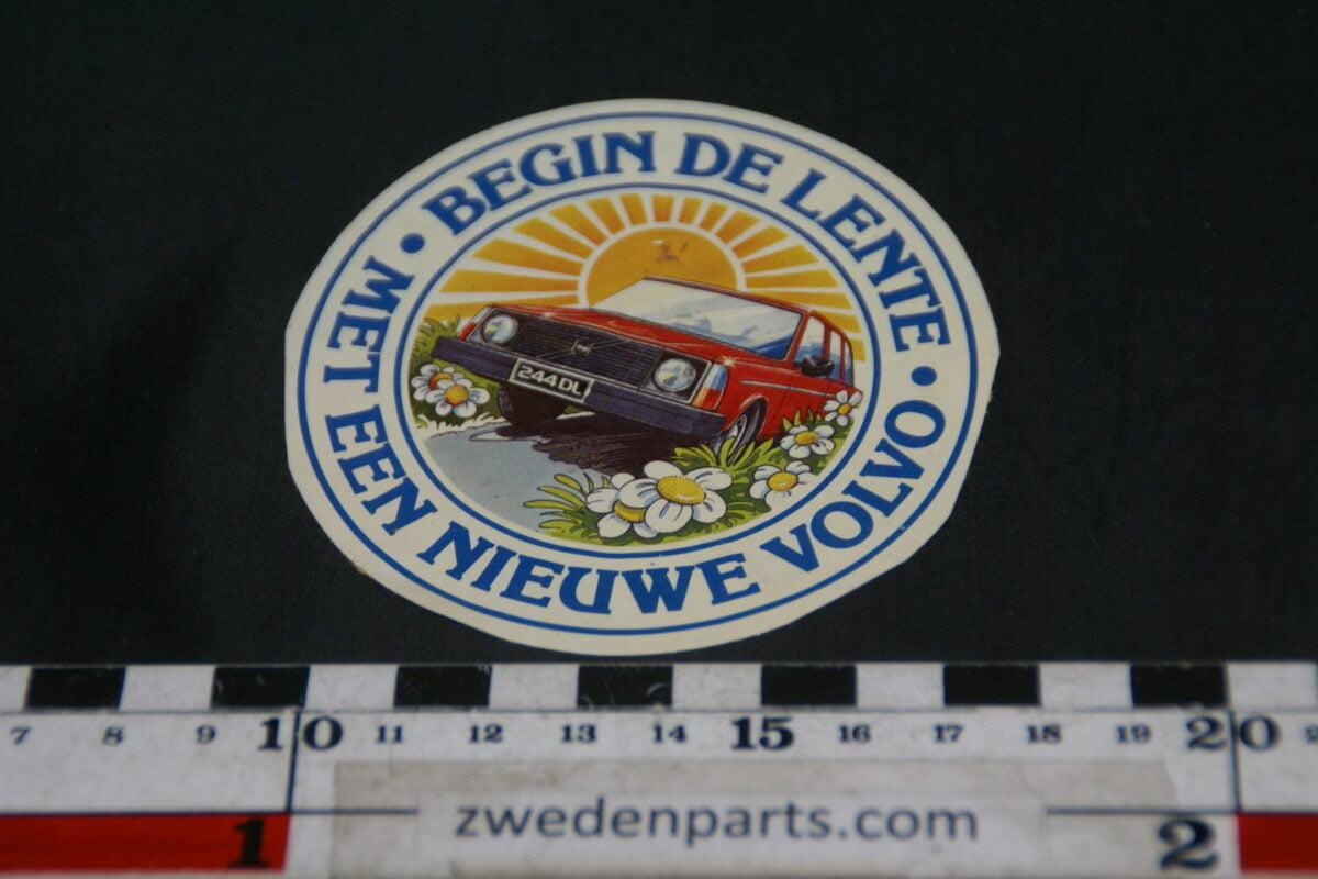 DSC02569 ca 1978 originele sticker Volvo begin de lente-13e54c13