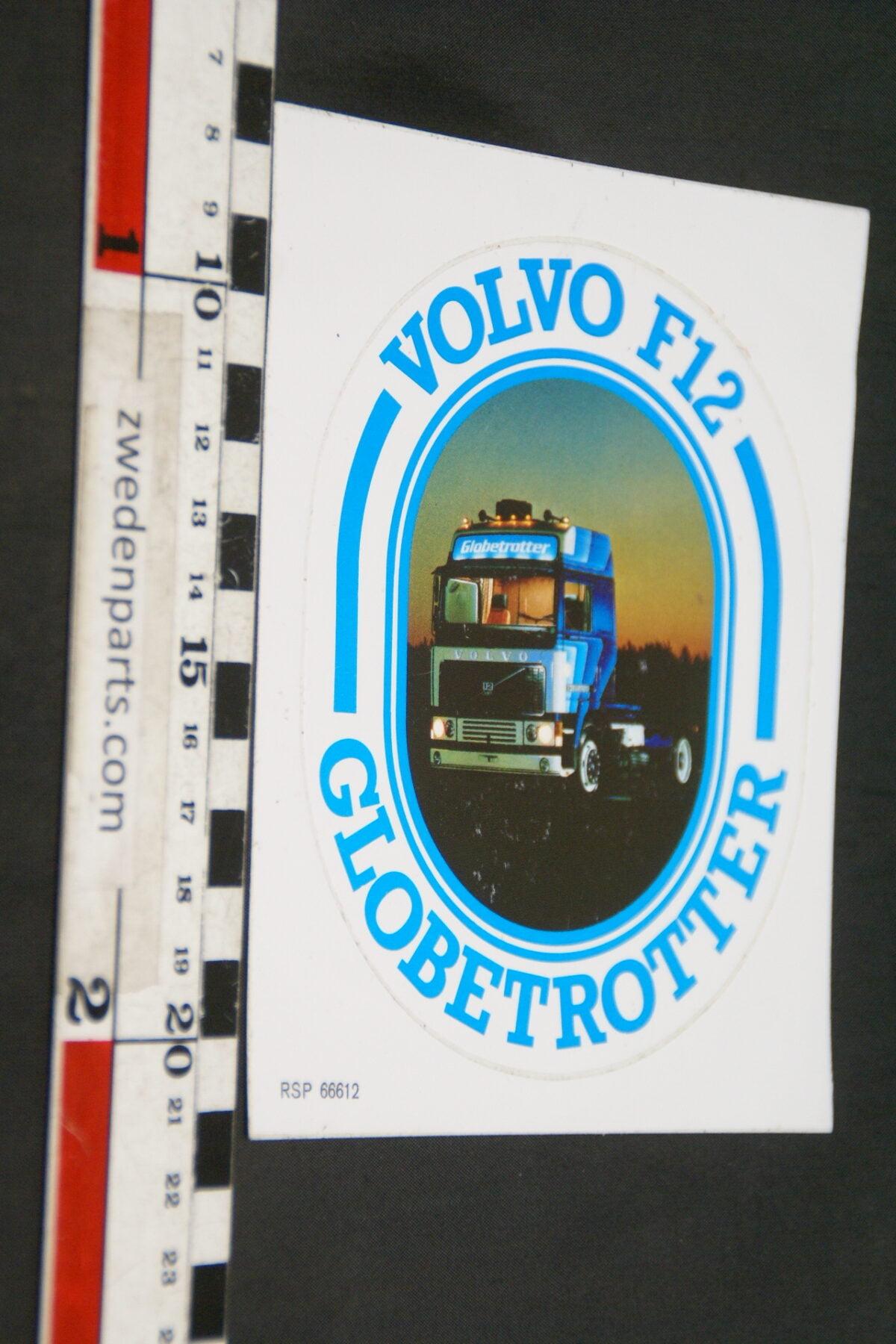 DSC02572  ca 2000 originele sticker Volvo F12 Globetrotter nr RSP00012 NOS-8ac7e533