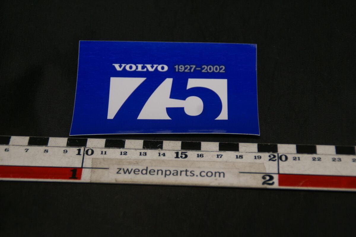 DSC02575 2002 originele sticker Volvo 75 jaar NOS-3ced02b1