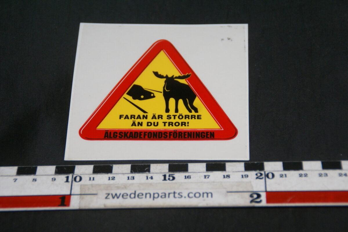 DSC02576 ca. 2002 originele sticker Älg Foreign NOS-e817a932