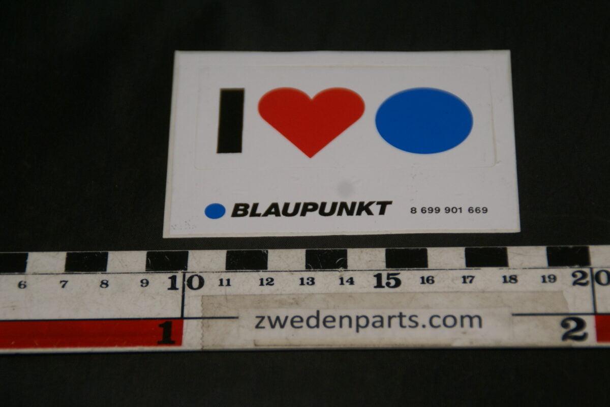 DSC02578 ca. 2002 originele sticker Blaupunkt NOS-aa90235a