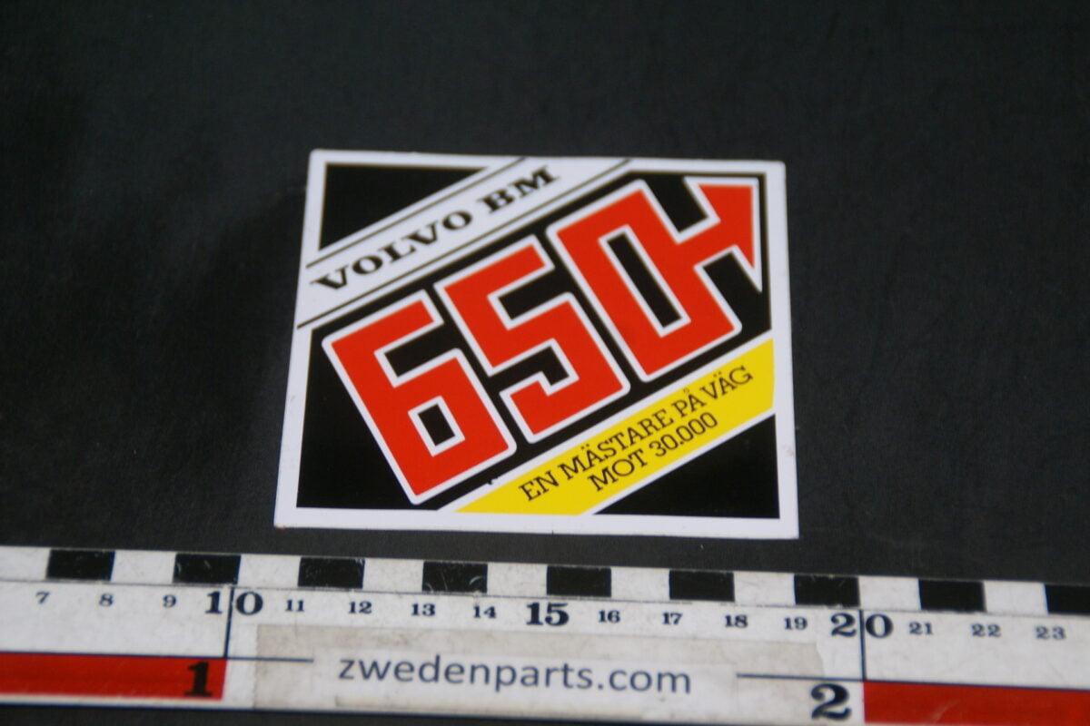 DSC02580 originele sticker Volvo BM 650 NOS-c56156a5