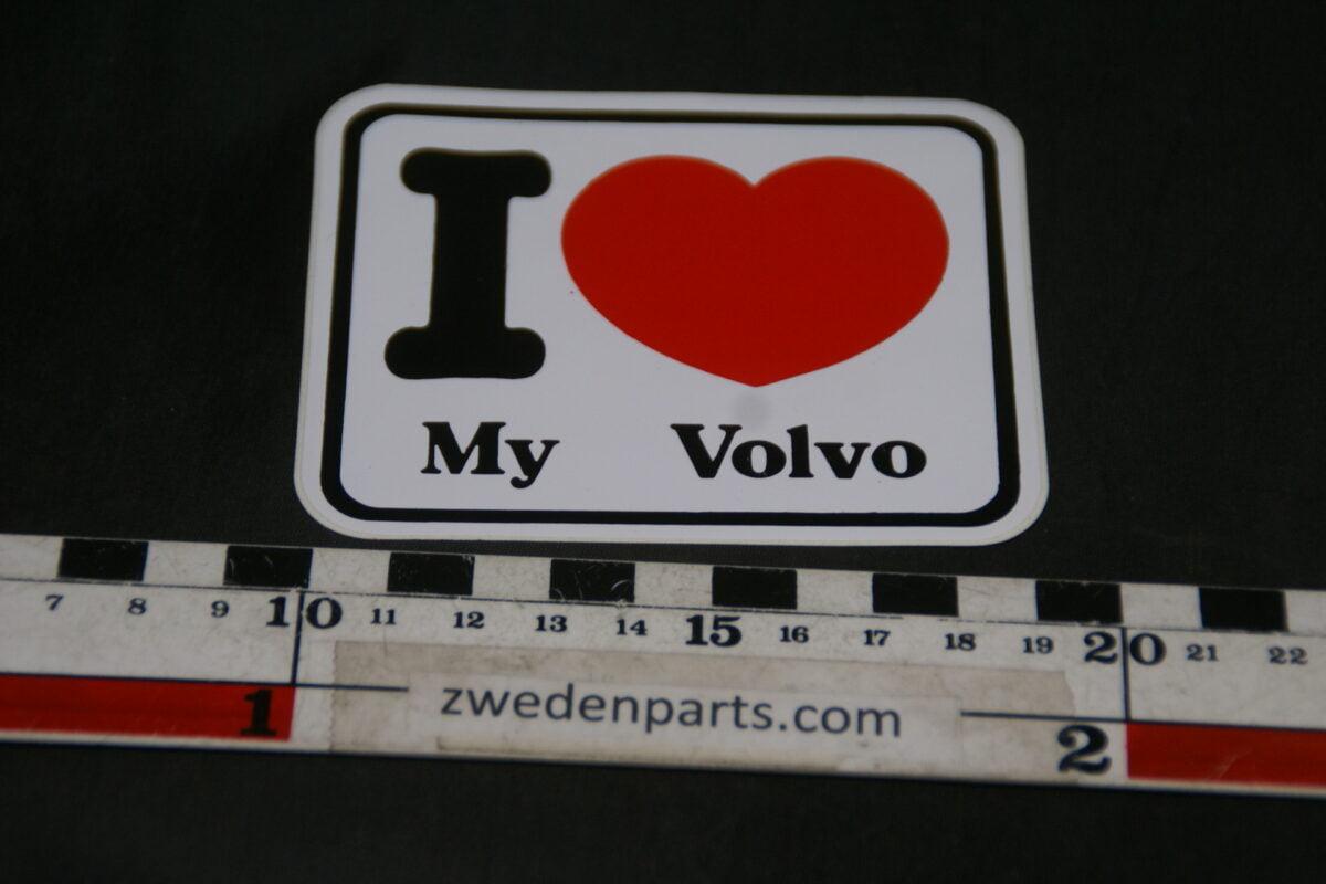 DSC02581 originele sticker I love my Volvo NOS-ac649dea