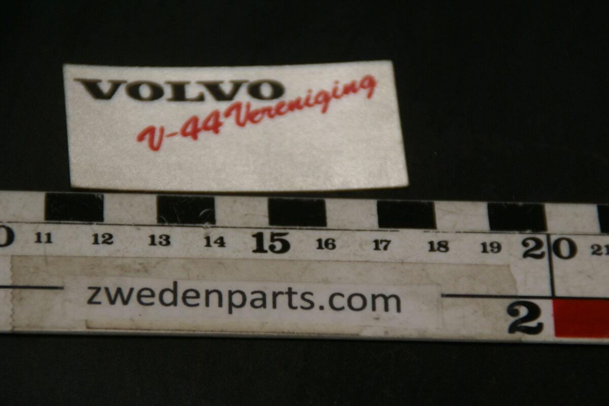 DSC02584 ca 1978 originele linnen sticker Volvo V44 Vereniging NOS-1af426bb