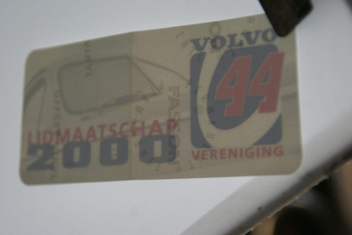 DSC02586 2000 originele sticker Volvo V44 Vereniging NOS-99668bec