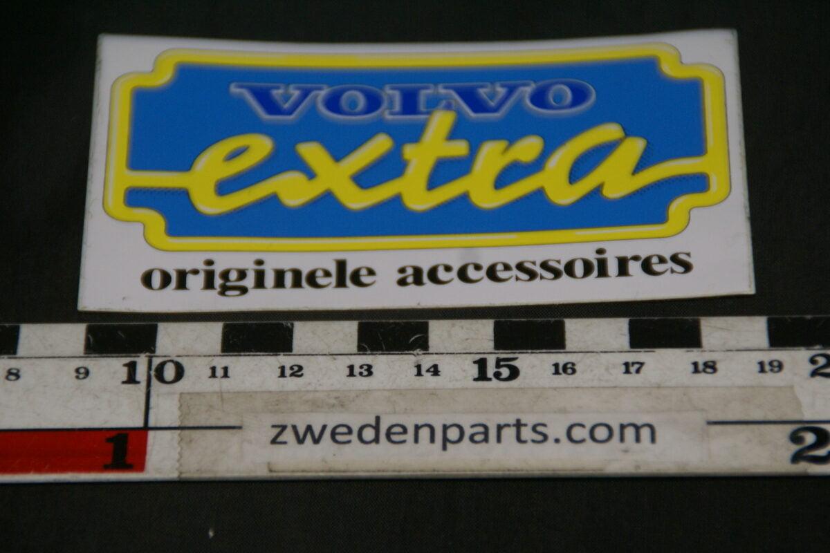 DSC02590 ca 1978 originele sticker Volvo Extra accessoires NOS-51ebcd8a