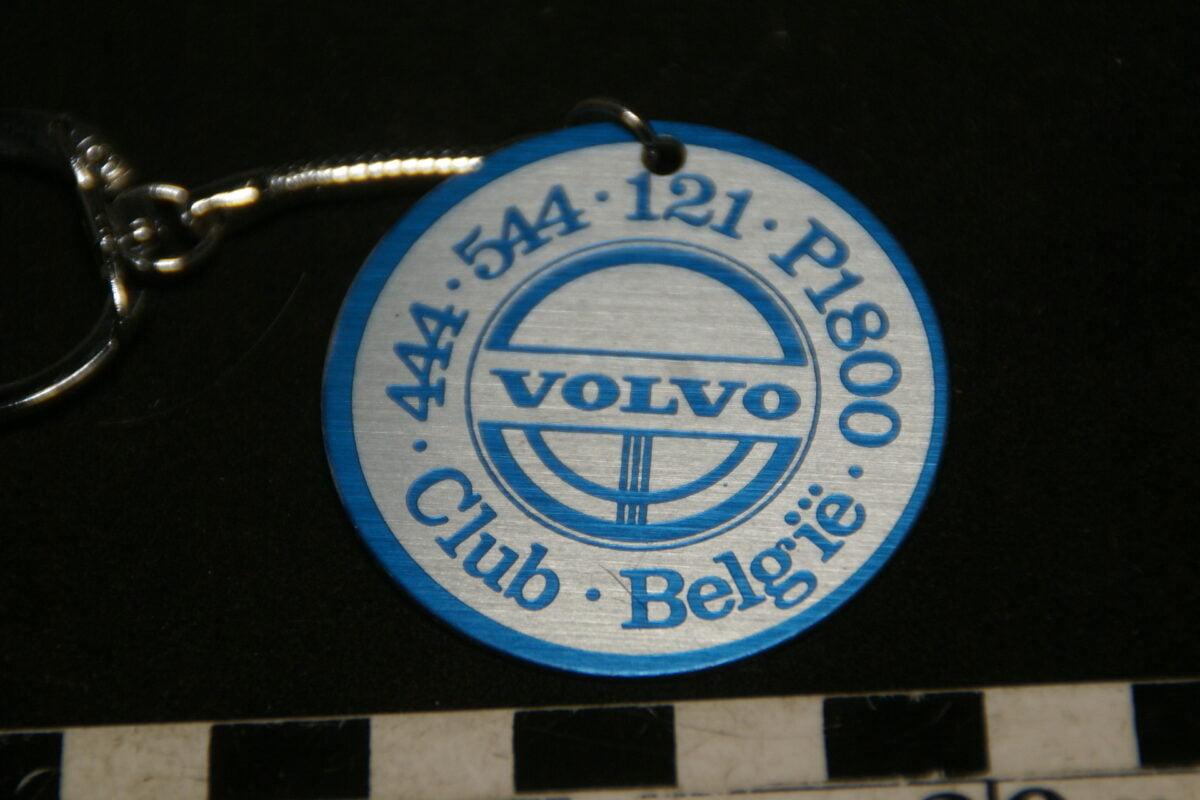 DSC02015 70er jaren originele sleutelhanger Volvo Club Belgie mint-b76453ff