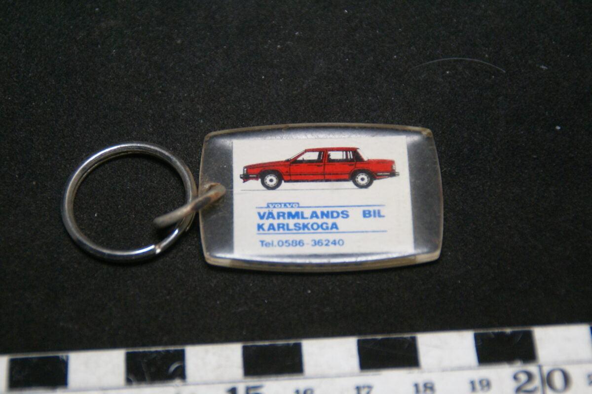 DSC02030 90er jaren originele sleutelhanger Volvo 740 rood mint-6ab587f0