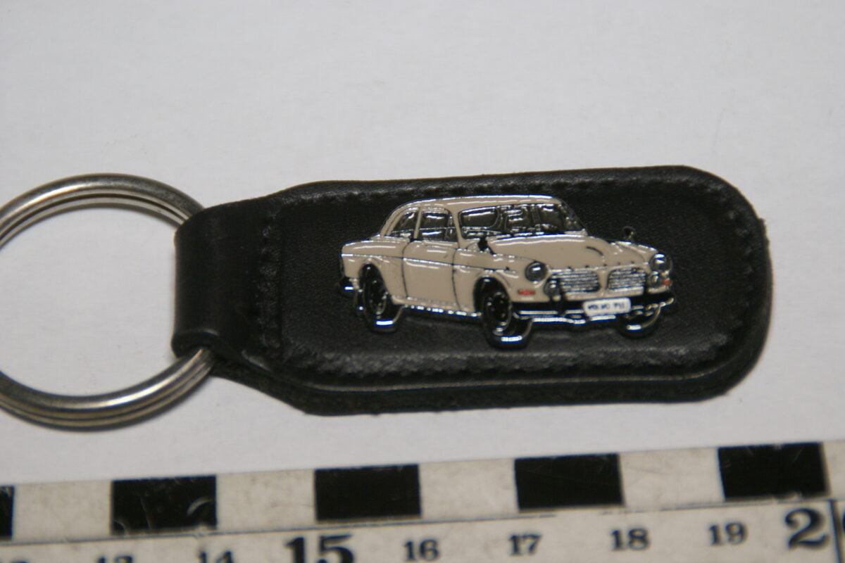 DSC02041 ca. 90er jaren originele sleutelhanger Volvo Amazon 123GT beige mint-cfa5e500