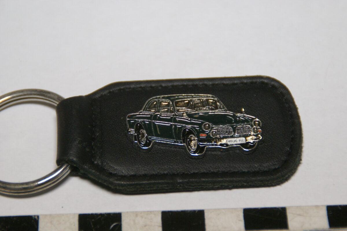 DSC02042 ca. 90er jaren originele sleutelhanger Volvo Amazon 123GT groen mint-7ea07dc6