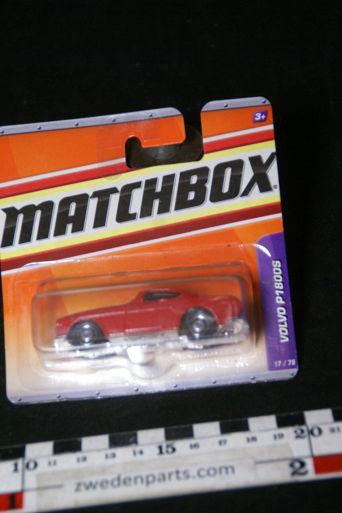DSC02074 2010 origineel miniatuur Volvo P1800S rood Matchbox MB-e414f6d8