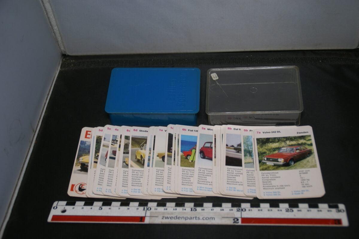 DSC02295 ca. 1977 origineel autokwartetspel luxeautos met Volvo 242-bc6f24b9