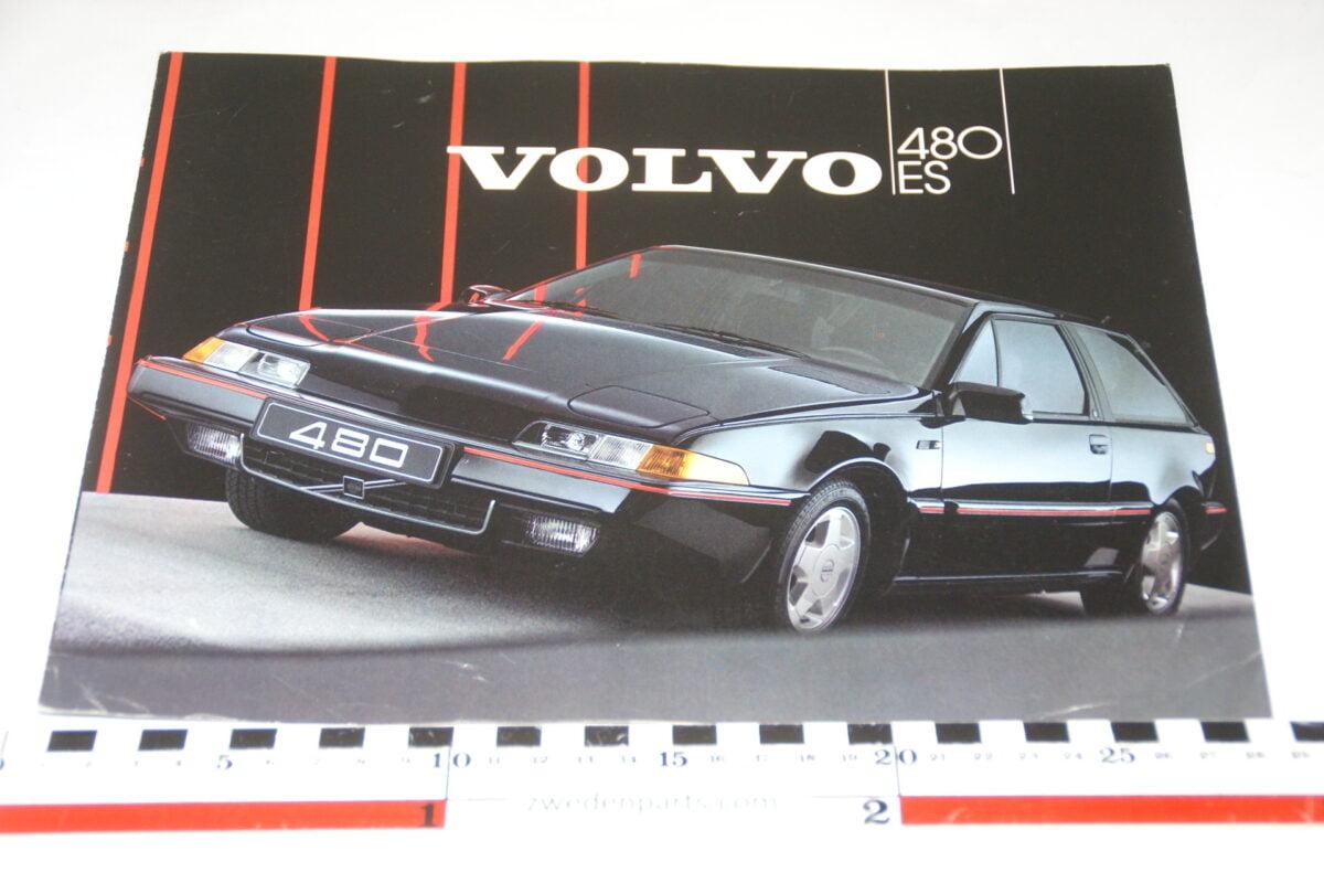 DSC03253 1986 originele brochure Volvo 480ES nr ASPCAR BV 2616-e0d7cec3
