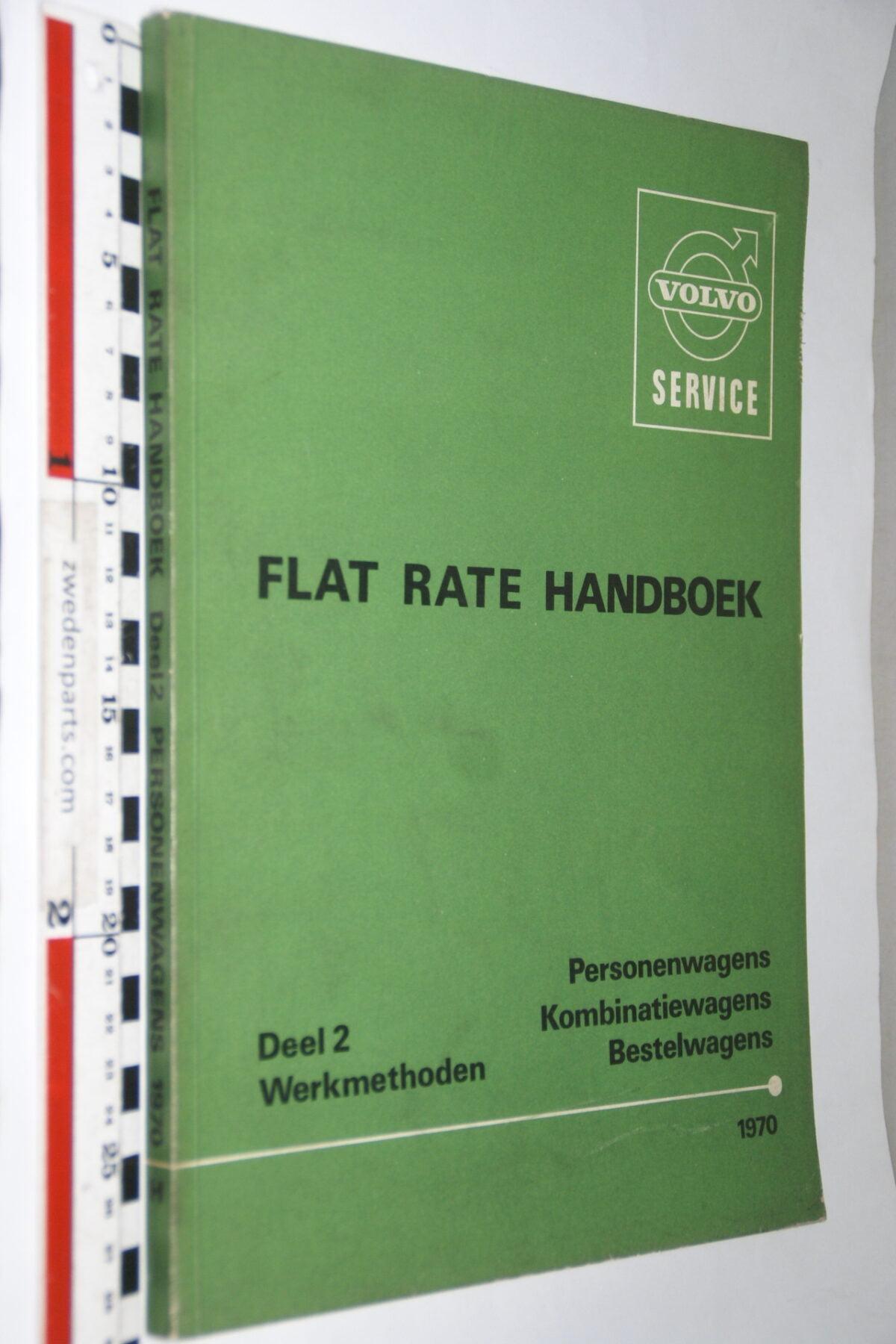 DSC03271 1971 origineel werkplaatsboek Volvo flat rate times 1 van 300 nr TP 84041-1-76fd57ed